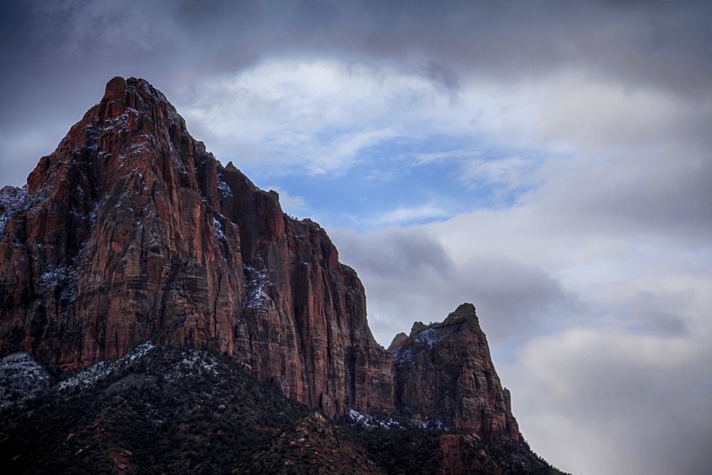 Passing clouds, Zion Utah