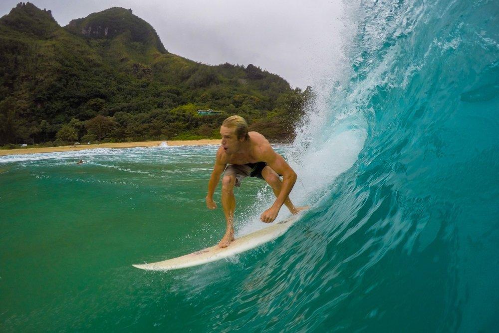 Dropping in, Hawaii