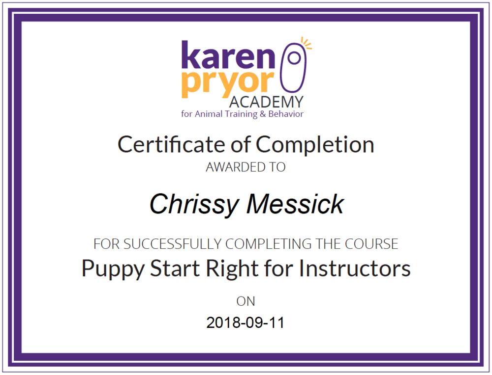 karen_pryor_certificate