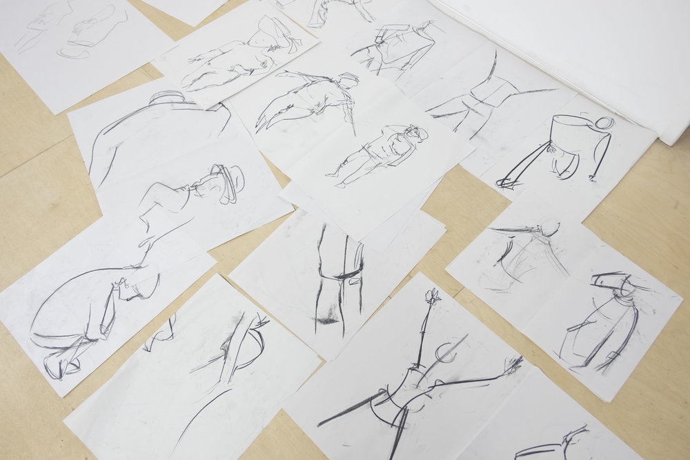Gestural Drawing with Jill Gibbon