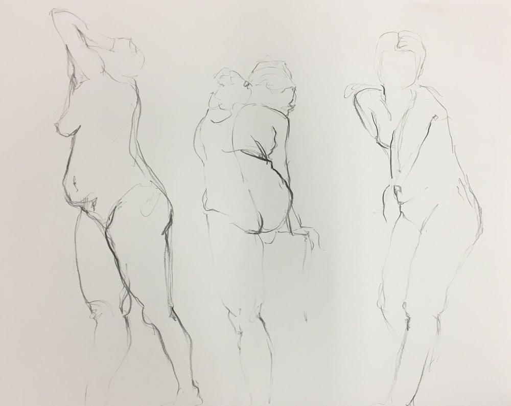 Gesture Triptych