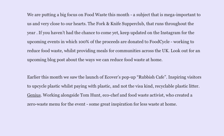 food waste intro