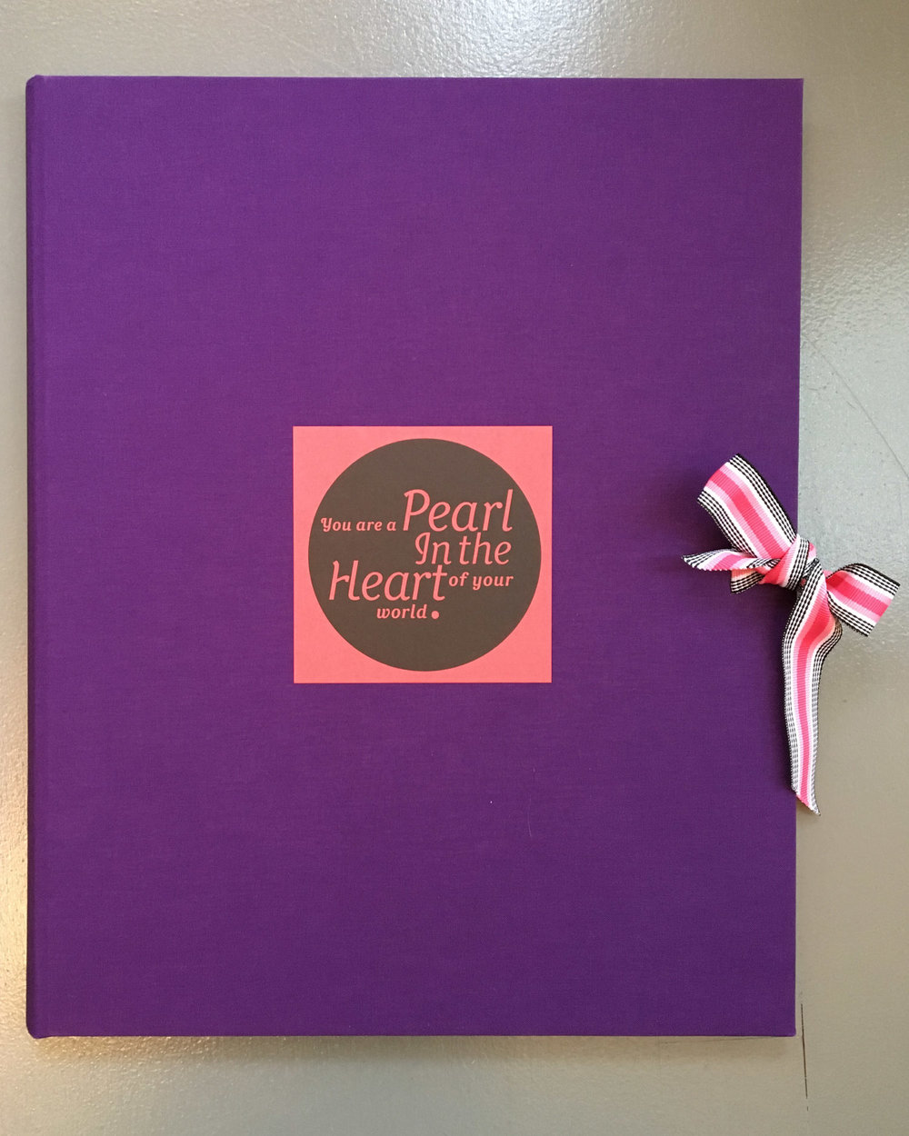 SVC Children's Hospital poetry broadside portfolio cover