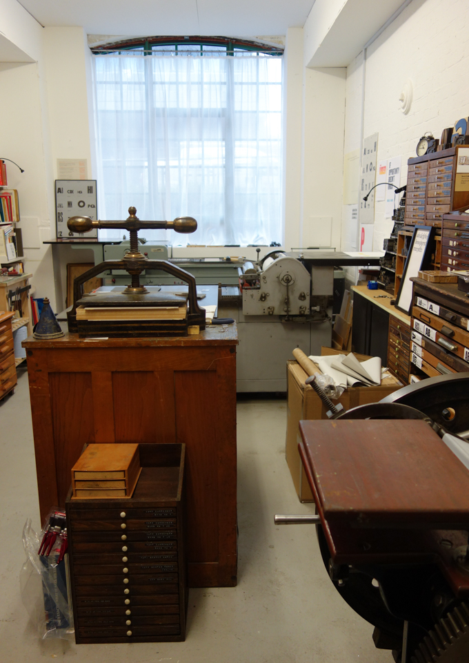 Print studio of The Counter Press