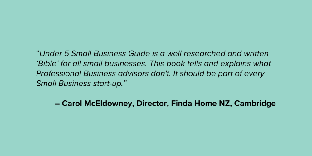 Carol McEldowney Micro Business Testimonial Quote