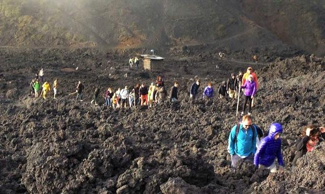 Hike volcanoes