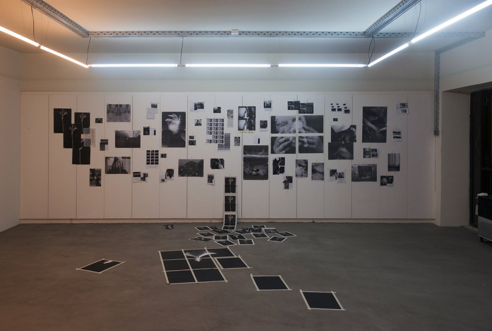 "Instalation ""(Re)constructing Self Pt I""  by Kelli Skoularioti & Nefeli Steirou at Void - 27 JAN '17"