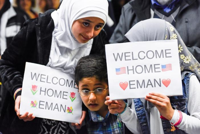 Photo Credit: Reuters,U.S. court to hear arguments Tuesday on Trump's travel ban, February 6, 2017.