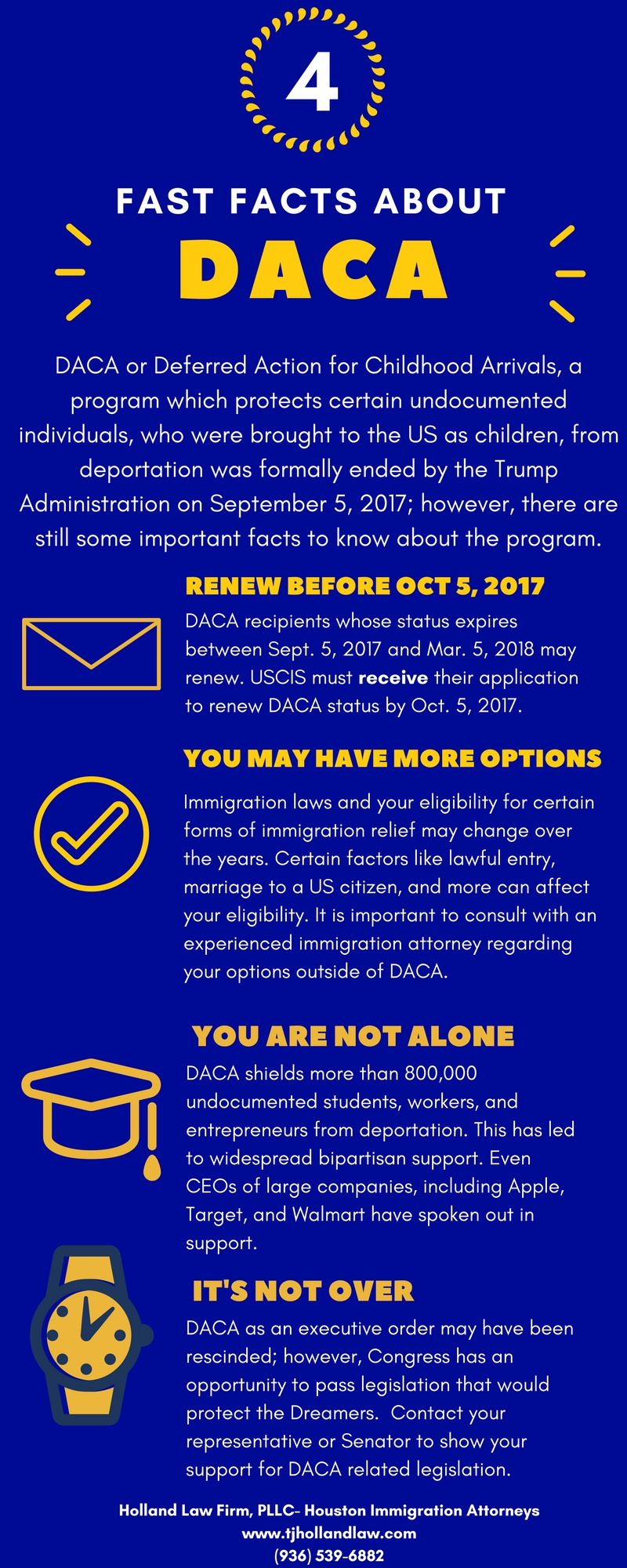 Houston Attorney for DACA Renewals
