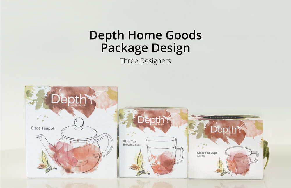 DEPTH Home goods — Alexa Hanna Design