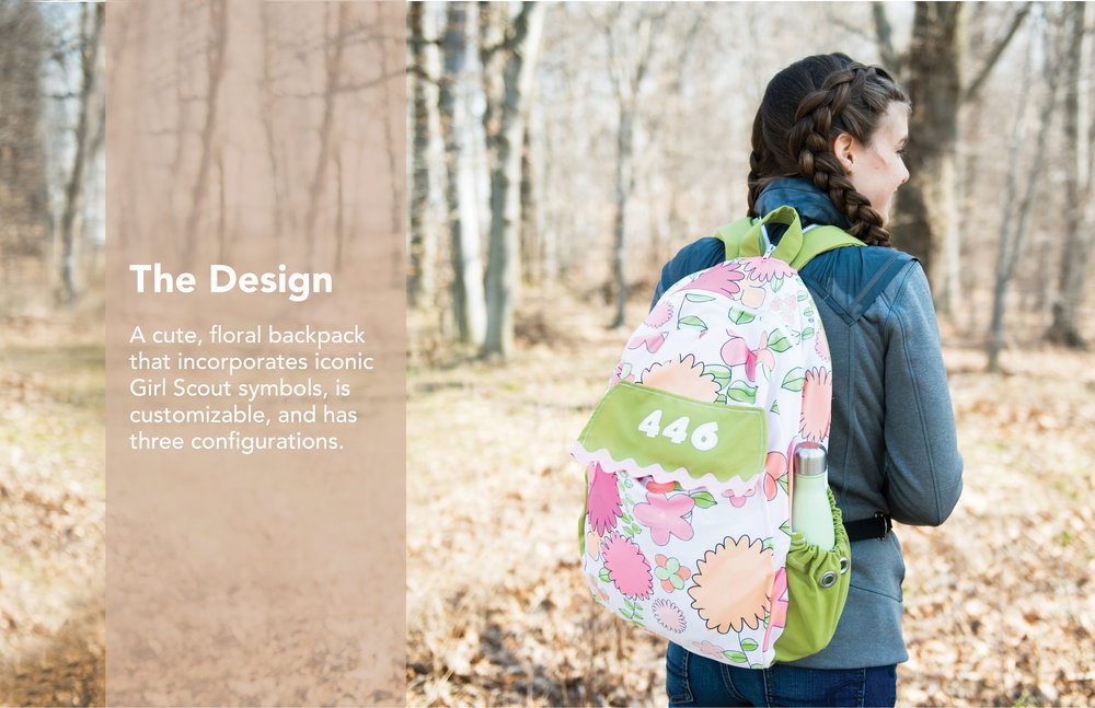 Girl Scouts Backpack Alexa Hanna Design