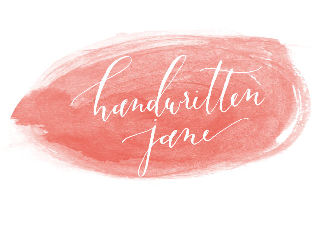 Handwritten Jane