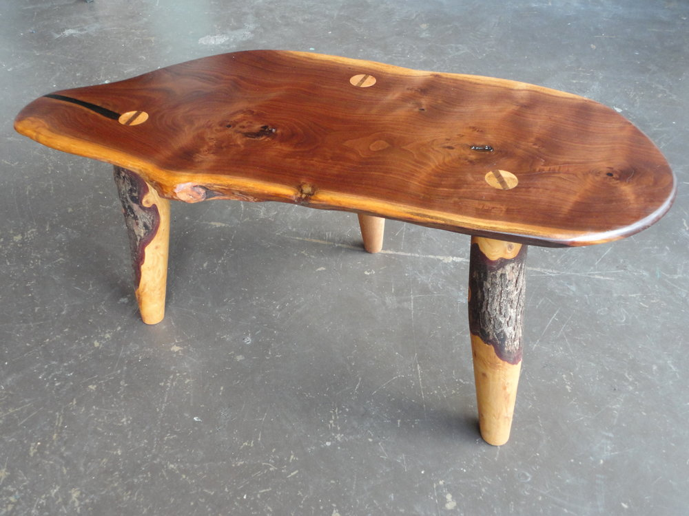 Aldo Valdés Böhm Walnut Table.JPG