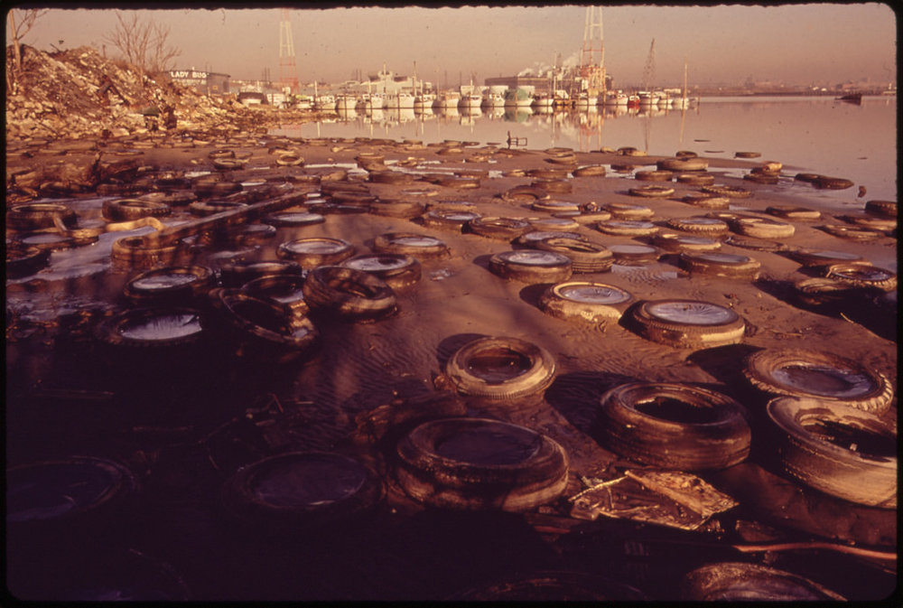 1970 - A photograph taken for the record by the newly created EPA.