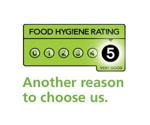 Top Food Hygiene Rating 5