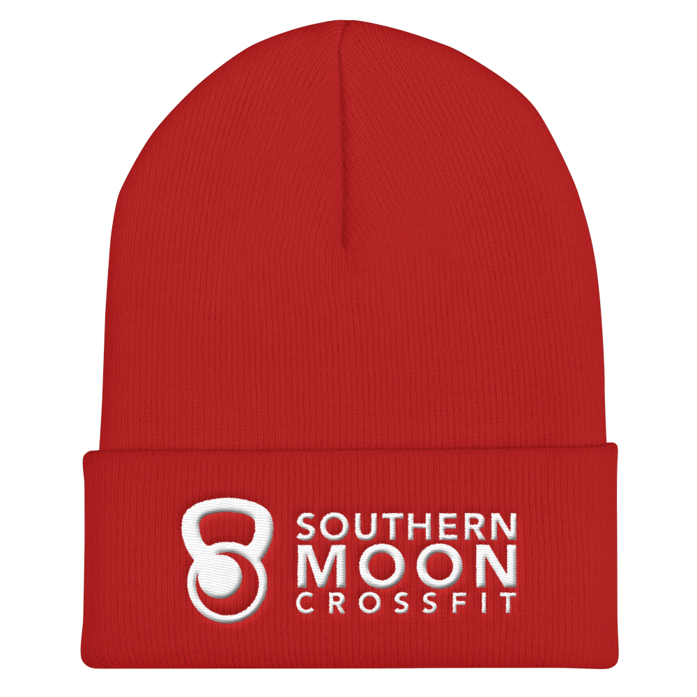 1d37e243495 Beanie- Red — Southern Moon Crossfit