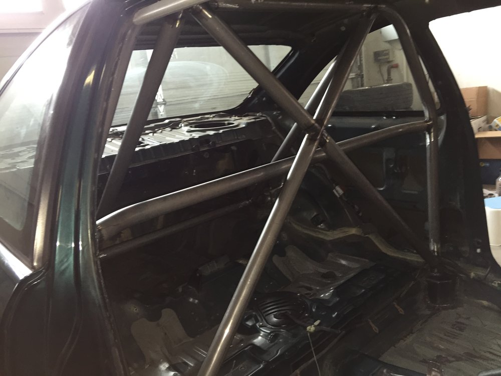 Roll bar designed and crafted by AK at K Bros Fabrication.