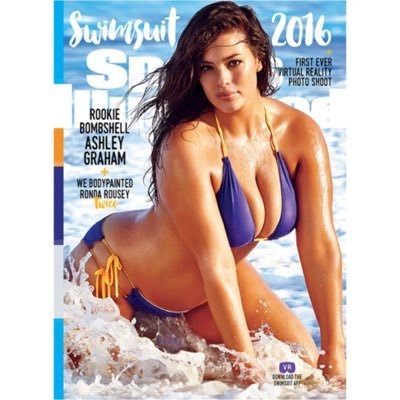 image of Ashley Graham on Sports illustrated
