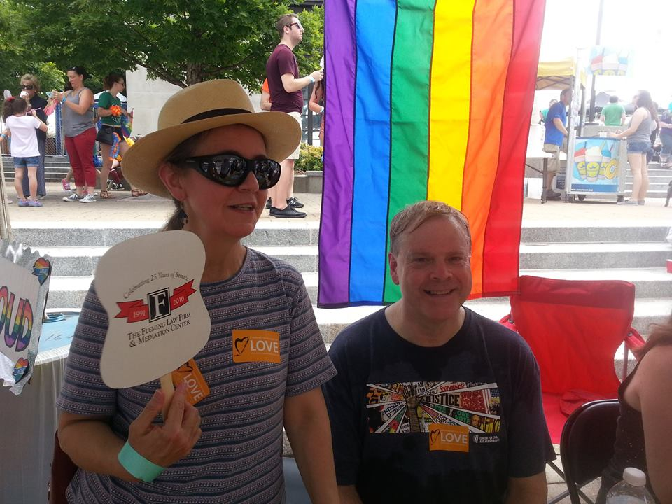 Pride 2016 GNUUC Booth Nancy Doug.jpg
