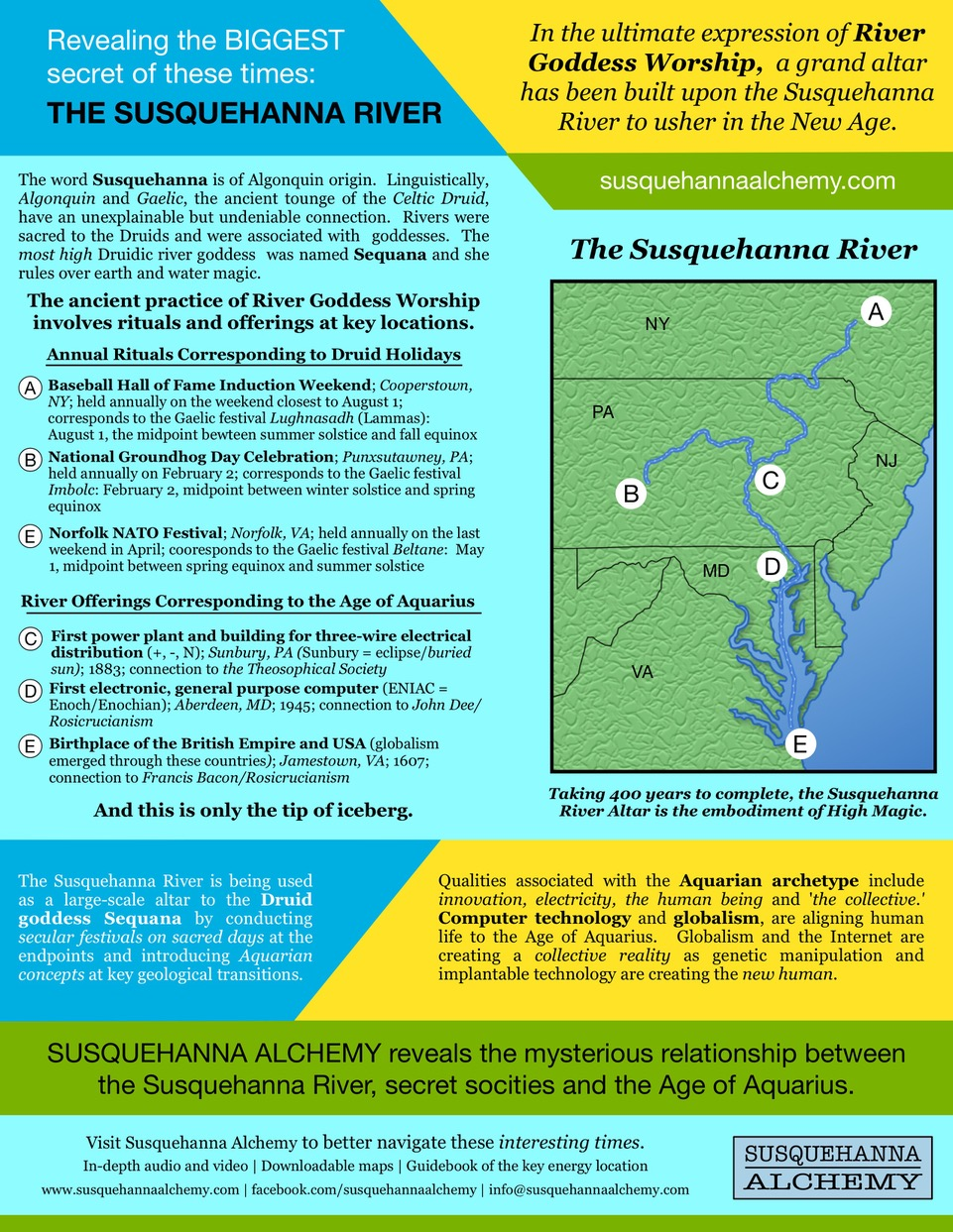The Susquehanna Mystery — OCCULTURE