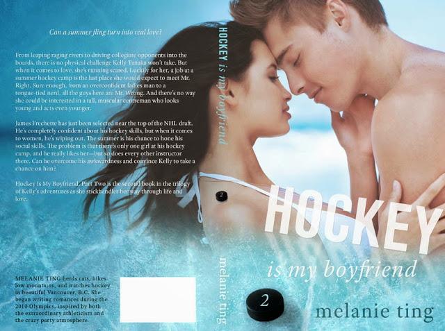 Hockey Is My Boyfriend — Author Melanie Ting — Blog