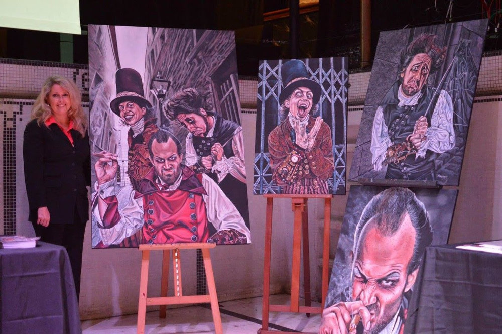 Exposition de l'artiste Nancy Loyer (Peintures à partir de photos de Jean-Sébastien St-Pierre