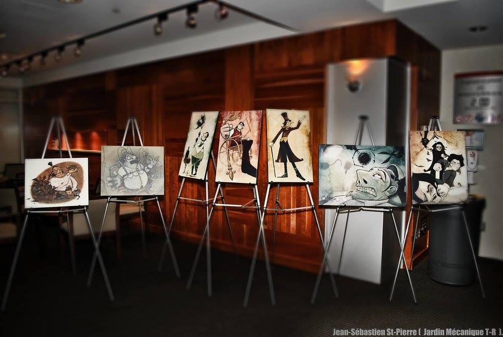 Véronique Paquette's exposition