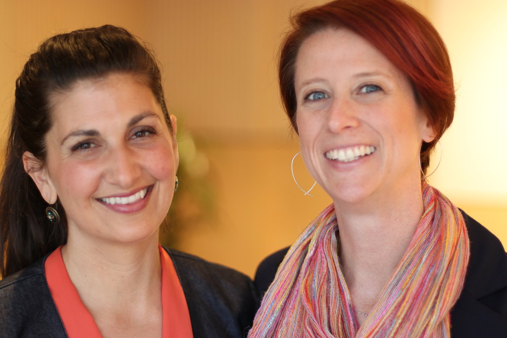 Kate Viggiano & Amy Dagliano, Co-Founders of The Rowan Tree