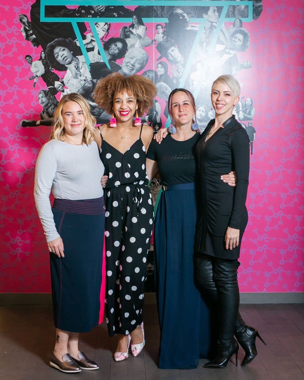 Bethany Iverson, Liz Giel, Erinn Farrell, Alex Steinman, Co-Founders of The Coven