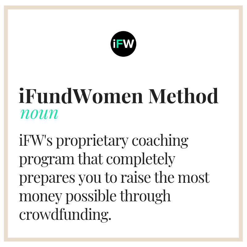 ifundwomen method crowdfunding coaching