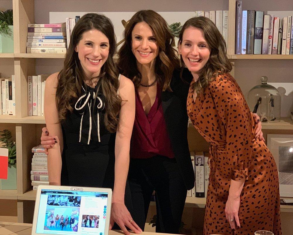 iFundWomen Co-Founders: Kate Anderson, Karen Cahn, Sarah Sommers