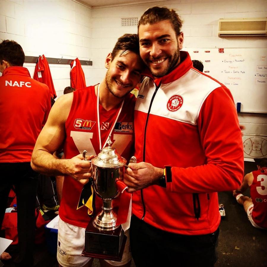 Sandover Medalist & North Adelaide Midfielder Aidan Tropiano