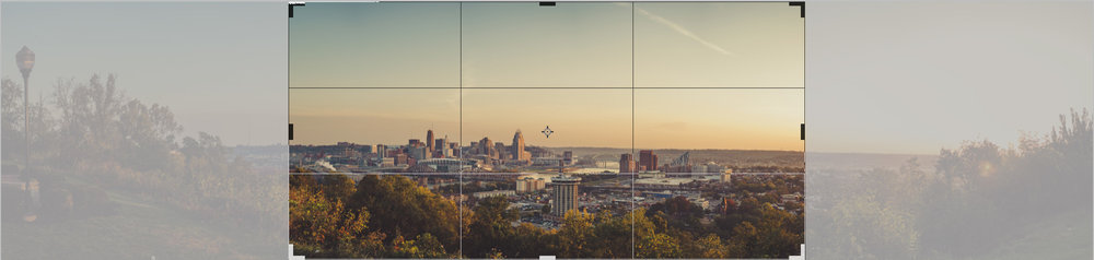 Above is an example of a 20x40 crop ratio