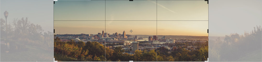 Above is an example of a 20x50 crop ratio