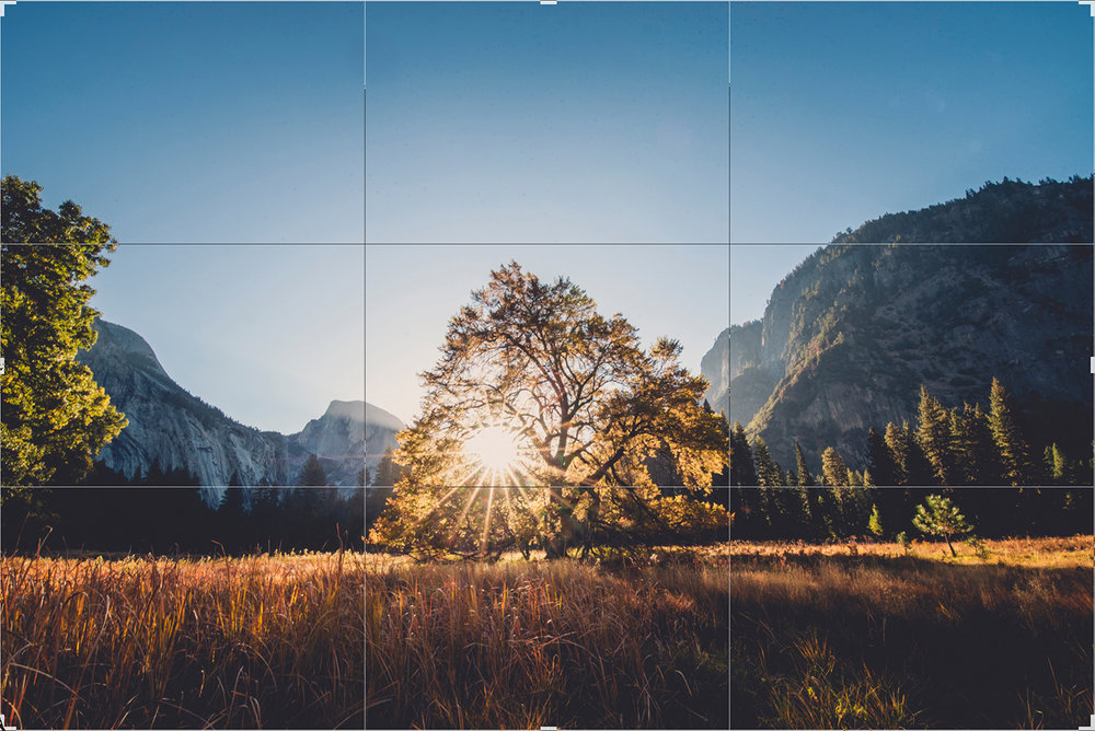 Above is an example of a 2x3 crop ratio (i.e 4x6, 8x12. 12x18, 16x24, 20x30, and 24x36)