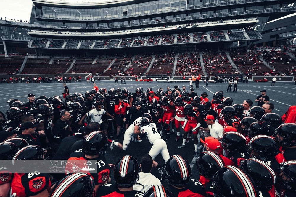 Apr. 14, 2017 | Cincinnati Spring Football