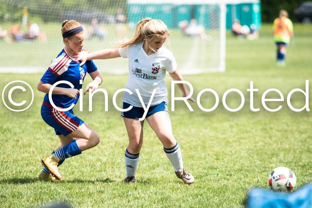 Tennessee United Soccer Club U13 Girls - (TUSC 01 Blue)