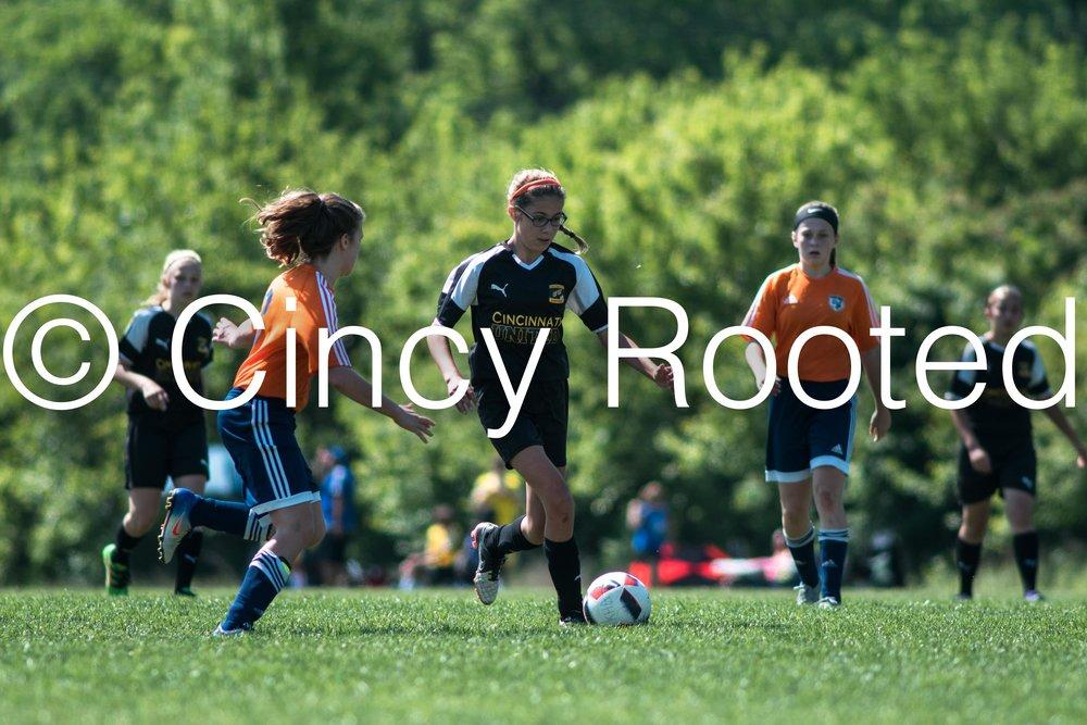 Cincinnati United U14 Sycamore Girls - (Cincinnati United Sycamore Mason Reign)