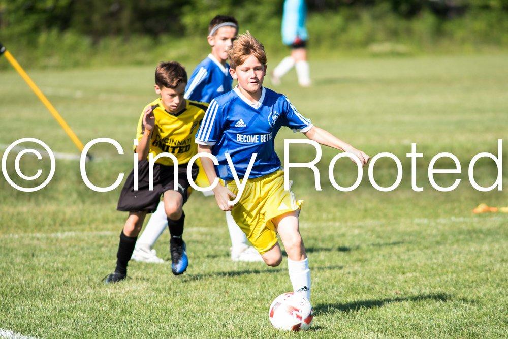 SP Soccer Academy U12 Boys vs Cincinnati United - (SP Soccer Academy Blue 1)