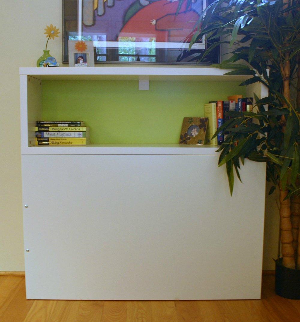 Headboard with shelf