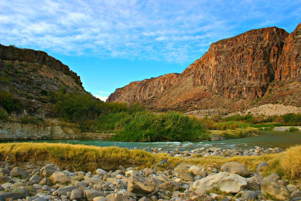 Rio Grande in Big Bend National Park, Texas