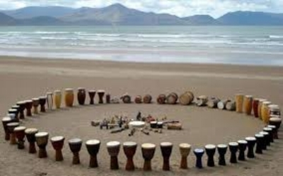 drums in circle at the shore.jpeg