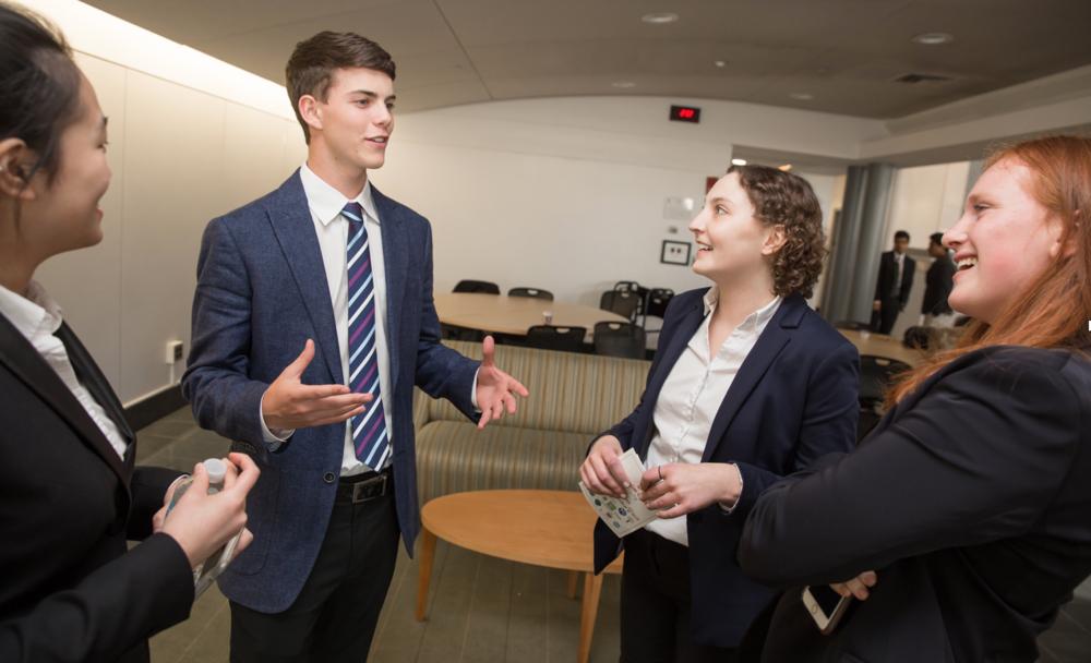Angela Lin, Ben Douglas, Bridget Howard, and Anna Gaberman discuss Innovateen future plans