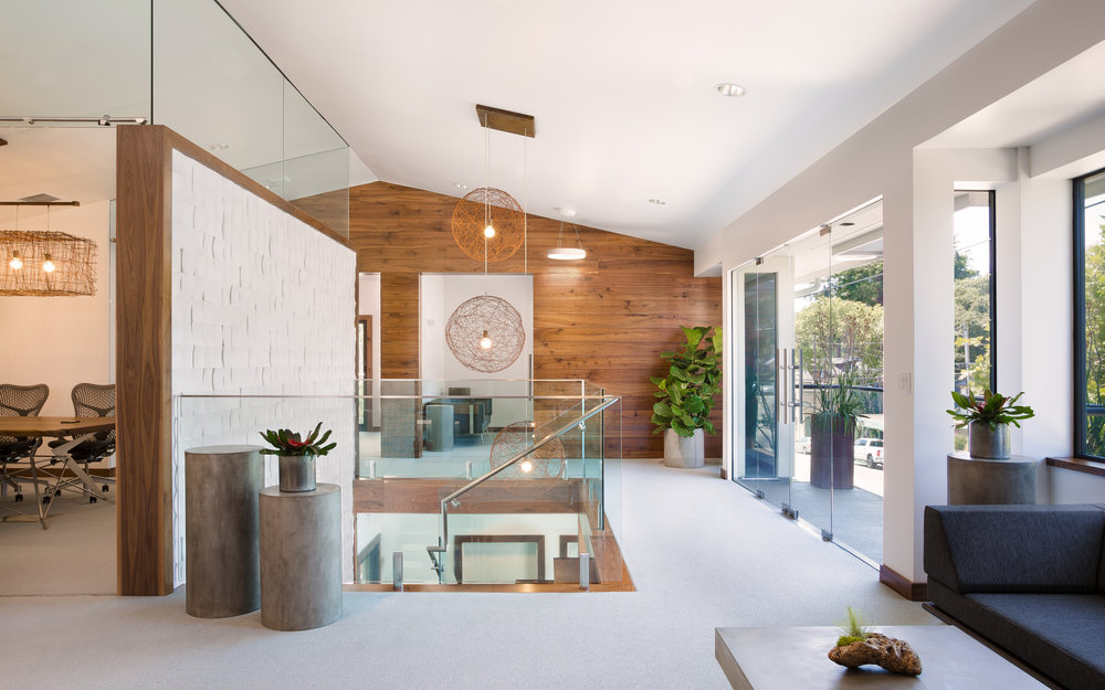 Commercial Office Interior in Capitola, California