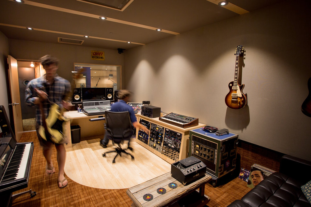 Universal Audio Recording Interior Design