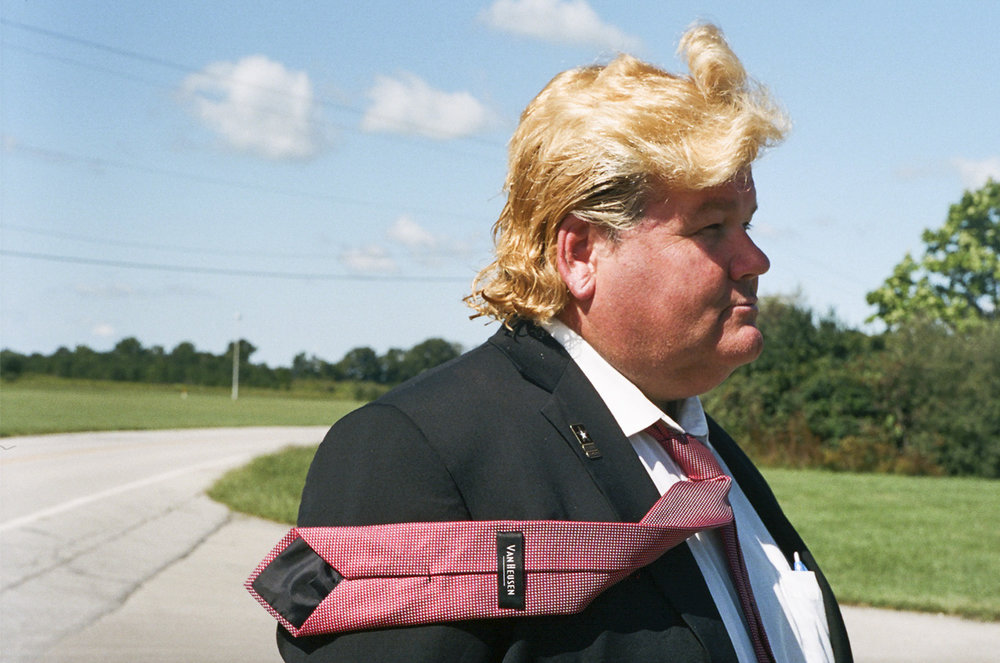 Trump impersonator