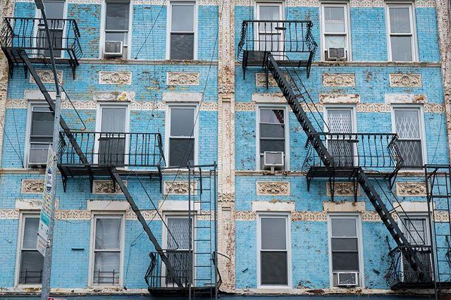Baby Blue Brooklyn | 2017 . . . . . #brooklyn #bk #brooklyncreative #newyorkcity #newyork #architecture #fireescape #babyblue #symmetrykillers #symmetry #blue #color #photography #photoart #downtownbk #jacobqberry #portabledvdplayer #itslit #ccopypastaa #brooklynresident #buildings #sony #sonyalpha #sonya7rii #5thave