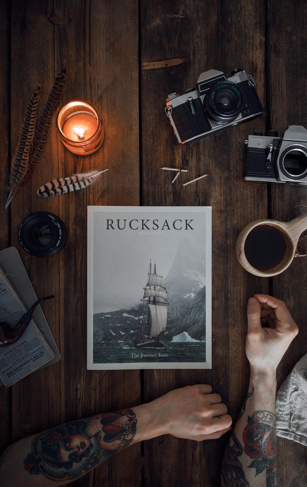 rucksack magazine volume two the journey issue fran mart