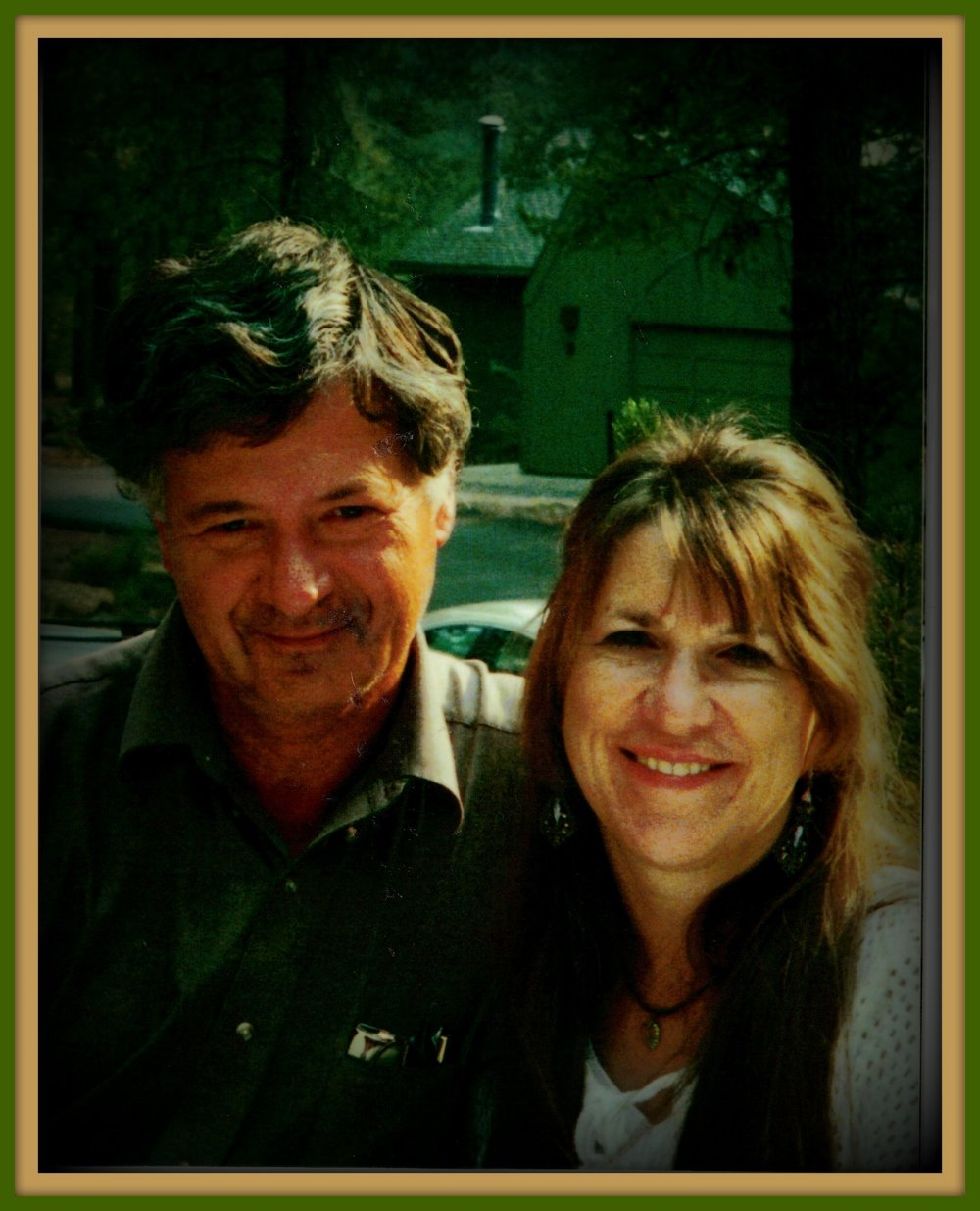 Bill and Amalie Holly, happily married for 25 years