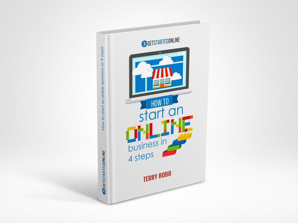 Online Book Mockup